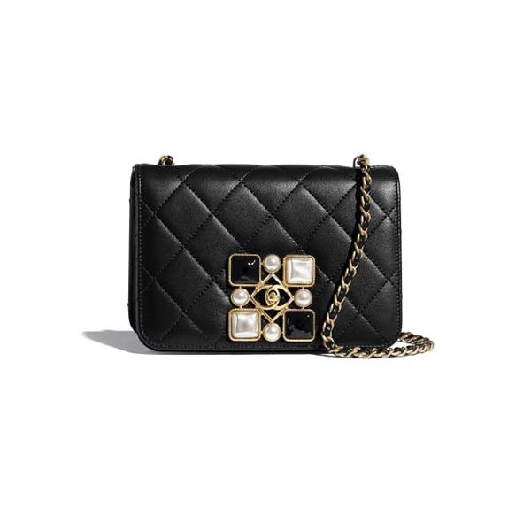 Chanel Small Flap Bag Black