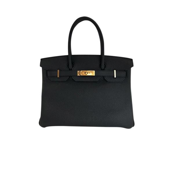 Hermes Birkin 30 Bag HSS Black