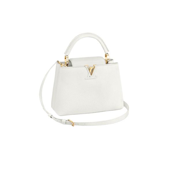 Louis Vuitton Capucines BB Bag White