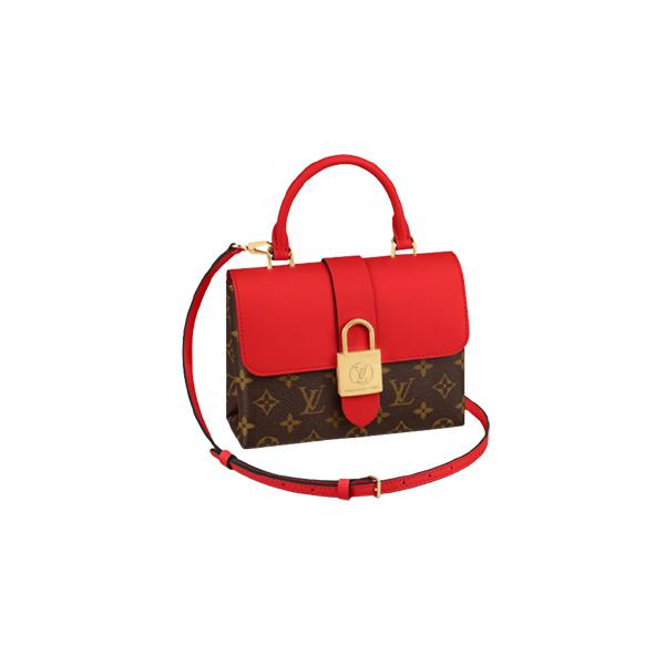 Louis Vuitton Locky BB Bag Monogram Red