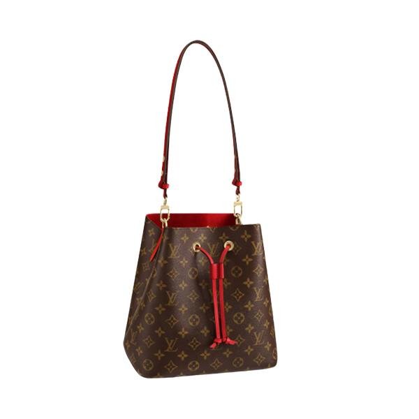 Louis Vuitton NéoNoé Bag Monogram Red