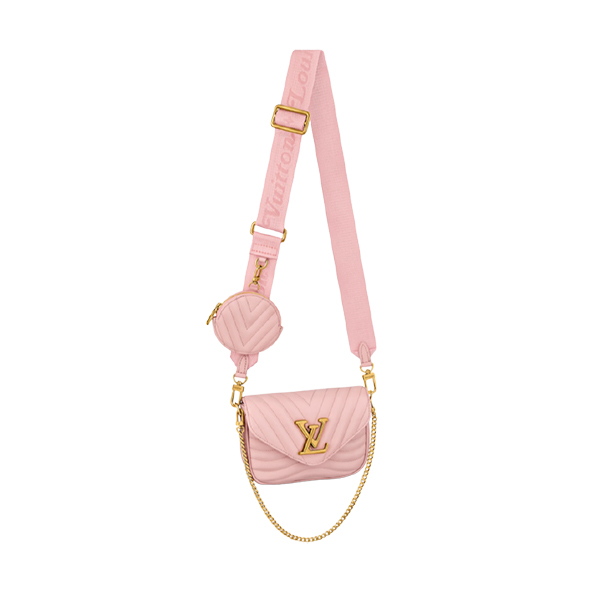 Louis Vuitton New Wave Multi Pochette Pink