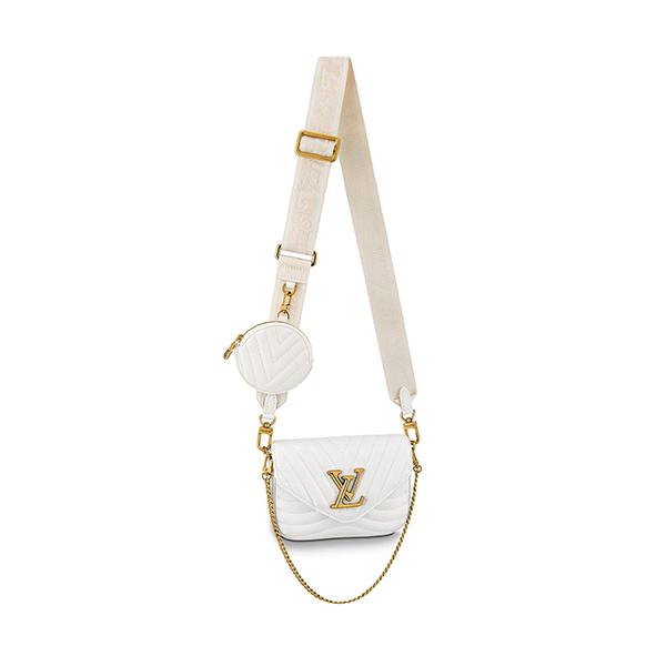 Louis Vuitton New Wave Multi Pochette White