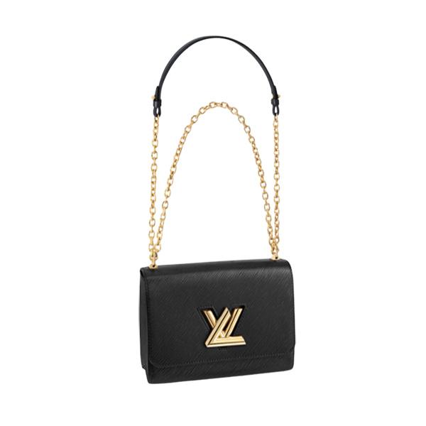 Louis Vuitton Twist MM Bag Black