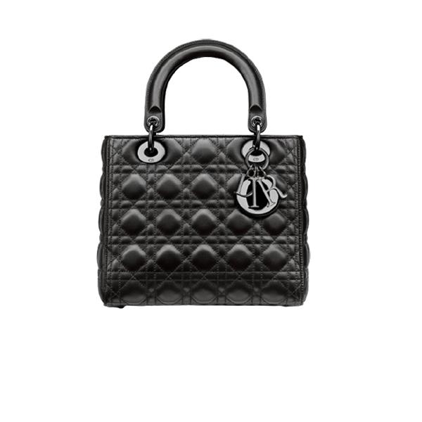 Dior Lady Bag Full Black