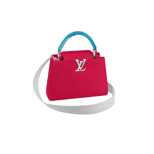 Louis Vuitton Capucines BB Bag Pomegranate Pink