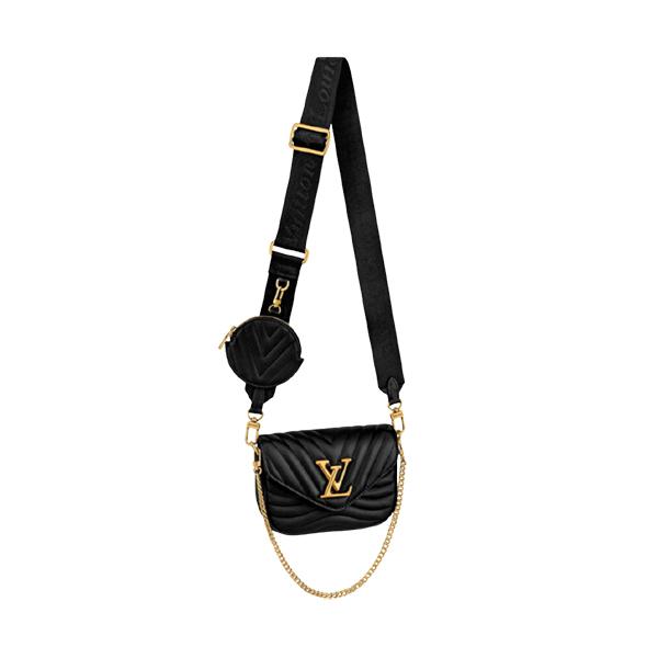 Louis Vuitton New Wave Multi Pochette Black