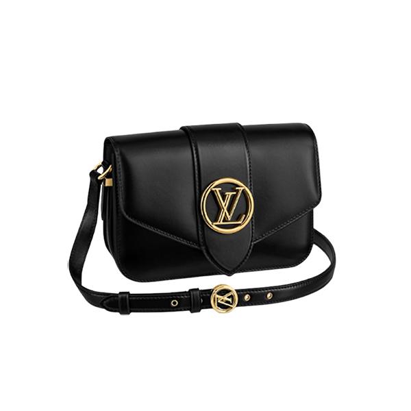 Louis Vuitton Pont 9 Bag Black