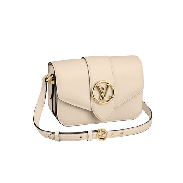 Louis Vuitton Pont 9 Bag Cream
