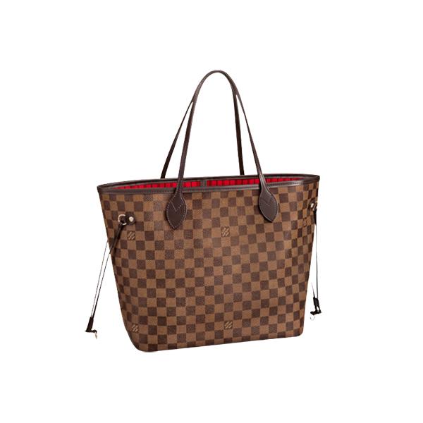 Louis Vuitton Neverfull MM bag Damier Ebène Canvas