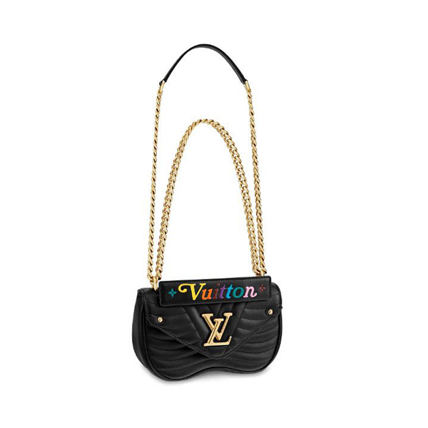 Louis Vuitton New Wave Chain Bag Black