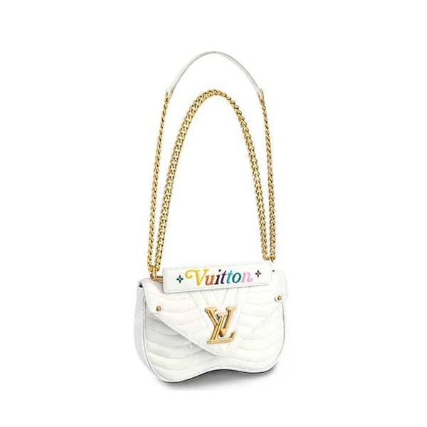 Louis Vuitton New Wave Chain Bag white