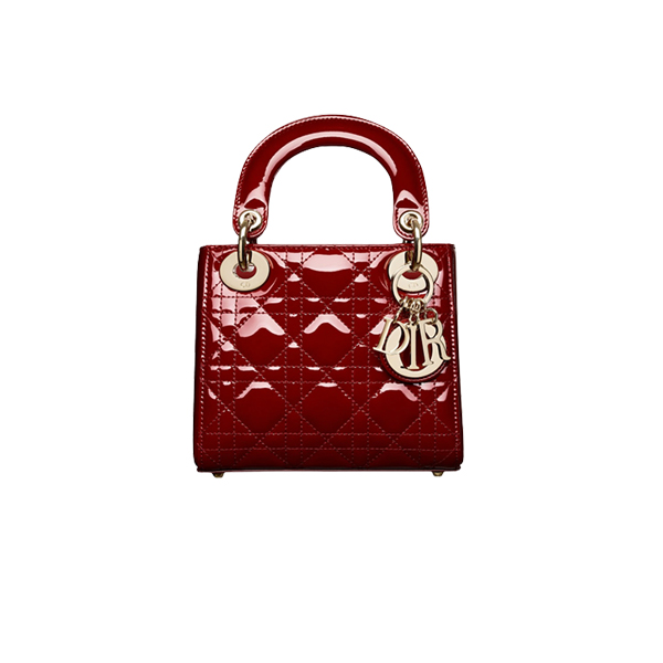 Mini Lady Dior Bag Red