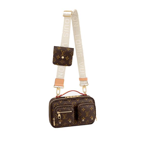 Louis Vuitton Utility Crossbody Bag Monogram Canvas