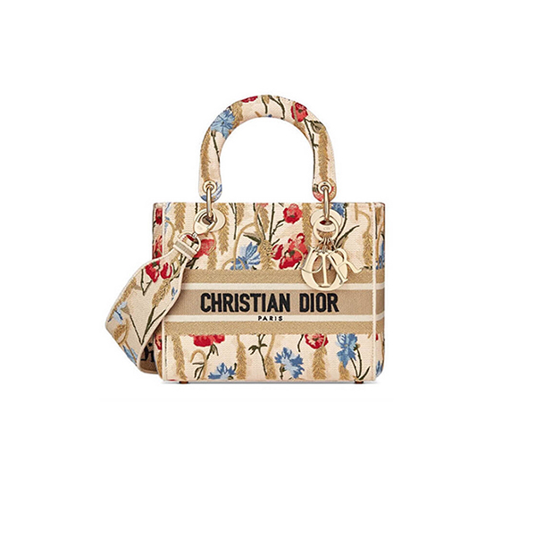 Dior Lady Bag Hibiscus