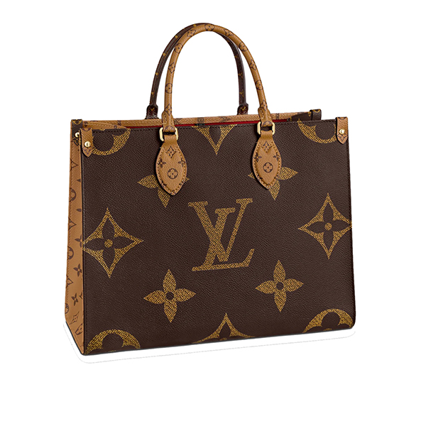 Louis Vuitton Onthego Monogram Giant Reverse Brown M45321