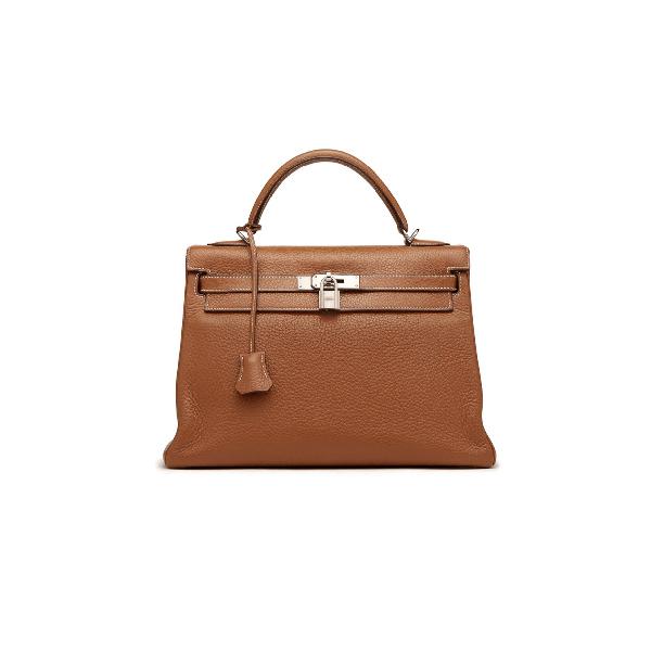 Hermes Kelly Bag 25 Brown